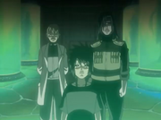 Amachi, Orochimaru e Anko