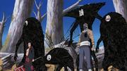 Hidan con Kakuzu y sus Cuatro Corazones