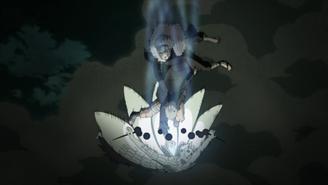 Naruto attacks Obito anime
