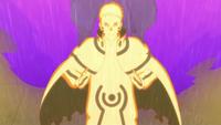 Primer Modo Kurama combinado con el Modo Sabio de los Seis Caminos en Boruto Naruto Next Generations (Anime)