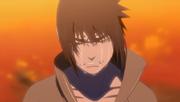Sasuke chora após saber a verdade sobre Itachi