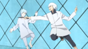 Suigetsu ataca a Mitsuki