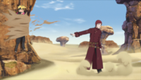 Técnica da Amarra de Areia (Gaara - Anime)
