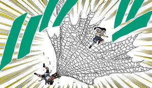 Telaraña Desenrollada Manga