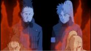 Inoichi y shikaku hablando