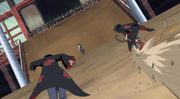 Kakuzu and hidan charging