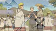 Naruto procurando por Shiranami
