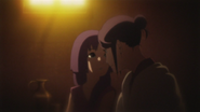 O laço entre Sumire e sua mãe