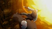 Shin como um escudo pra seu pai