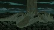 Shinju emergiendo de la Barrera