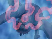 Gaara sufriendo la extracción del Shukaku