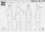 Diseño de Naruto entrenamiento Senjutsu por Pierrot