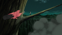 Formación de los Seis Yang Rojos Anime 1