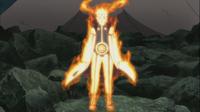 Modo Kurama de Naruto durante la Segunda Parte
