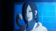 Orochimaru With Snake