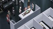 Os ninjas de Konoha investigando sobre os humanos explosivos