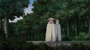 Asura e Taizō saem juntos para a missão