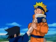 Fuerza física de Sasuke