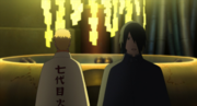 Sasuke Habla con Naruto