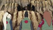 Shikamaru, Ino y Chōji dispuestos a pelear con Kakuzu