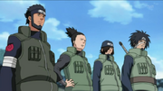 The Regroup Team Asuma