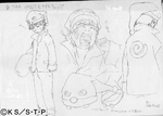 Diseño de Naruto en pijama I por Pierrot