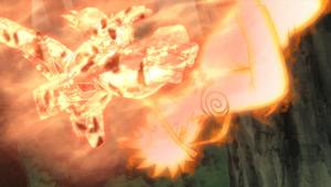 Elemento Lava Puño Ardiente Blindado Anime