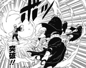 Elemento Viento Ruptura Manga