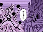 La batalla entre hermanos, Asura vs Indra Manga