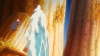 Liberação de Água - Formação da Parede de Água (Kakashi - Anime)