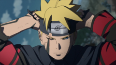 Boruto Uzumaki Flashforward Anime
