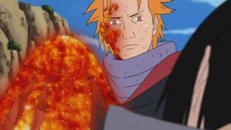 Jugo revives Sasuke