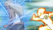 Naruto surpreende o Raikage