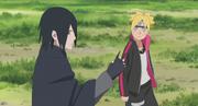 Sasuke treina Boruto