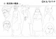 Arte Pierrot - Cuidadores do Orfanato de Konoha