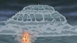 Elemento Agua Explosión de Agua Colisión de Olas Anime