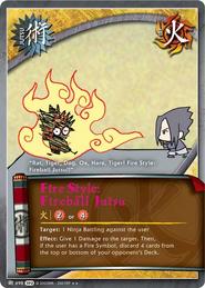 Fire Style Fireball Jusu