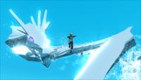 Liberação de Água - Técnica do Projétil do Dragão de Água (Kakashi-Game)