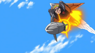 Mecha-Naruto missile