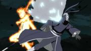 Tobi é atingido pelo Rasengan