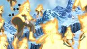 Clones de Naruto vs. Kaguya