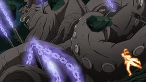 Estacas de la Estatua Demoníaca Anime