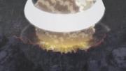 Iwagakure é atingida por um dos meteoritos caídos da Lua