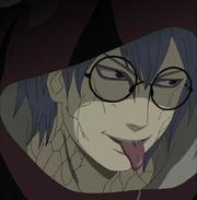 Kabuto mostra sua língua