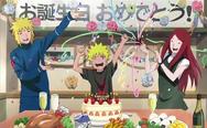 Minato, Kushina e Naruto (Road To Ninja)