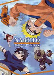 Naruto Calendario 2006 Portada Versión B