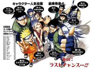Naruto Capítulo 60 Full Color