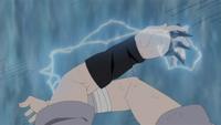Relâmpago - Triplicação (Sasuke - Anime)
