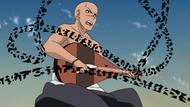 Hoichi sendo derrotado