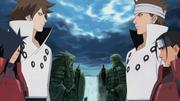 Indra y Asura reencarnados en Madara y Hashirama